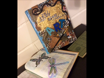 Young Artists Transform Old Books into Works of Art!