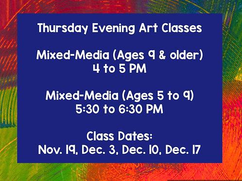 Thursday Evening Classes
