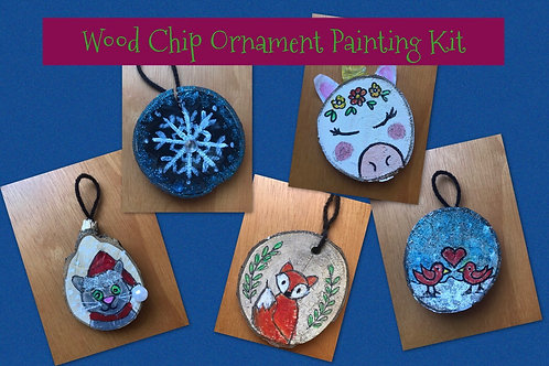 Wooden Ornament Painting Kit