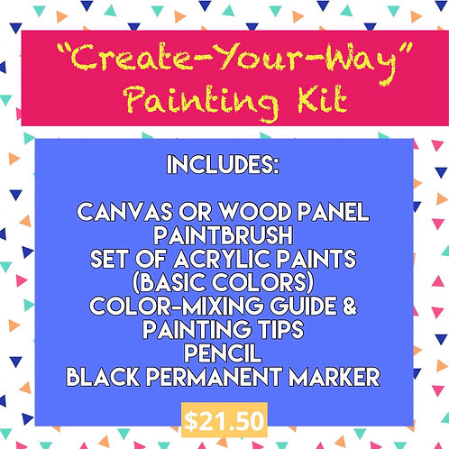 Create-Your-Way! Painting Kit