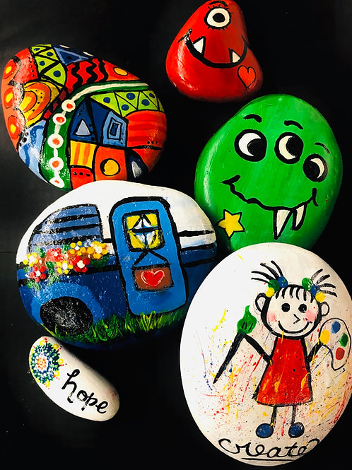 Pet Rock Painting Kits
