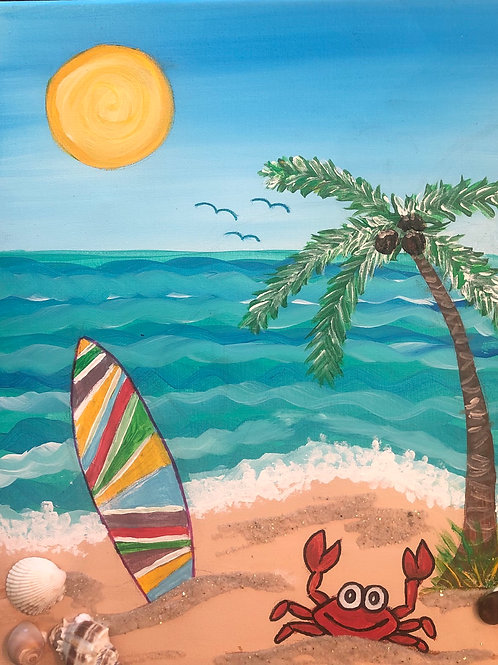 Take Me to the Beach! Painting Kit