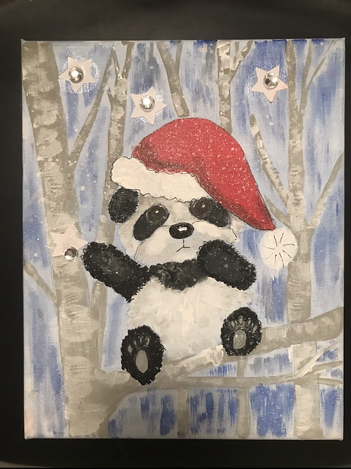 12/5 Santa Panda Painting Class