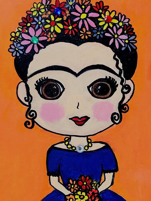Frida-Inspired Portrait Painting Kit