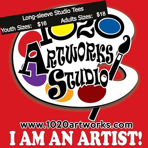 I am an ARTIST! Long-Sleeve Studio T-Shirt