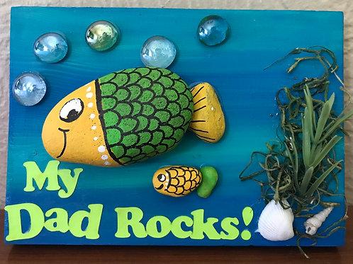 Fish Rock Painting Kit