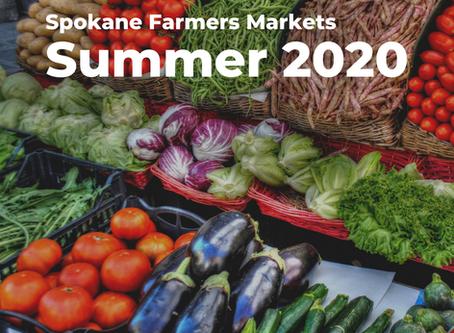 Spokane Farmers Markets, Summer 2020