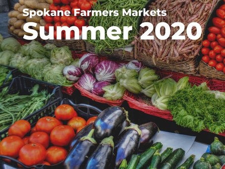 Spokane Farmers Markets, Summer 2020