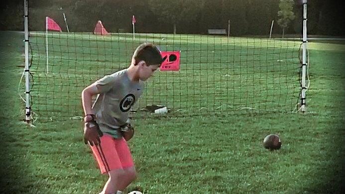 4 LIght Soccer Training System