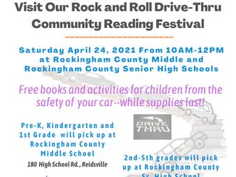 Rockingham 13th Annual Reading Festival
