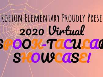 Virtual Spook-tacular Showcase