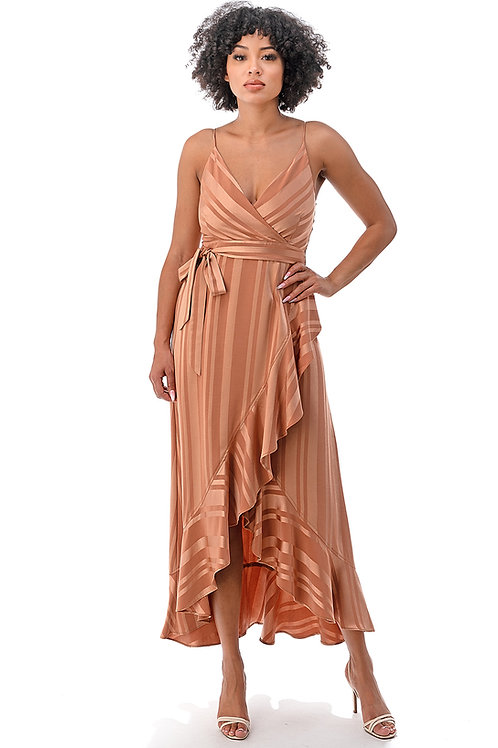 Style #70102-2 in Peach Satin ($30.00/piece)