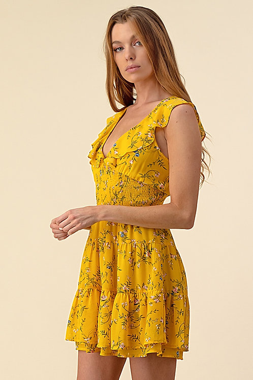 70295 Yellow Floral ( $20/ piece )