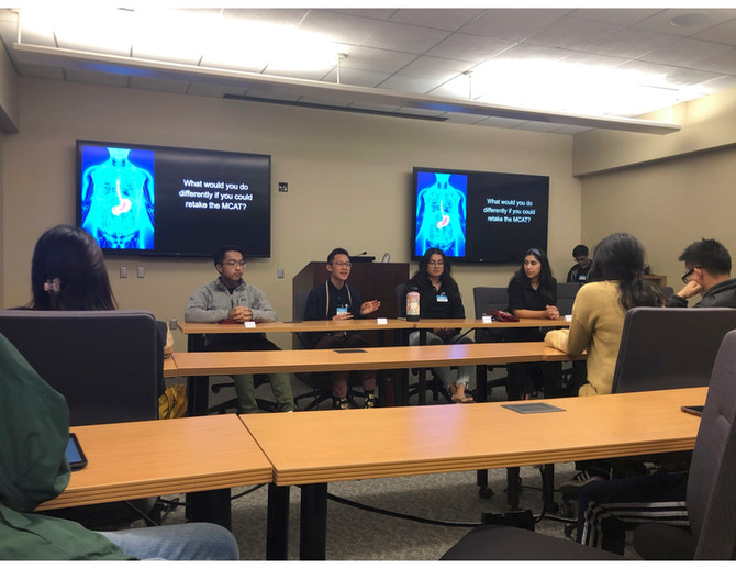 MCAT Student Panel