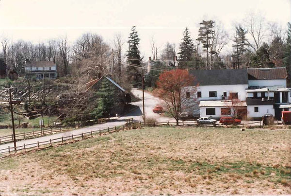 1985 Photo of Strode's Mill Crossroads f