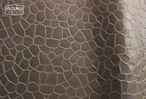Futura Leather lux rock Embossed