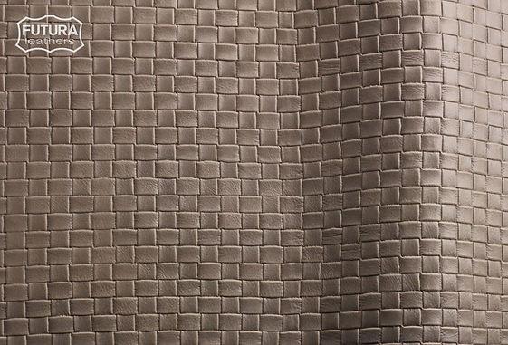 Futura Leather lux toronto weaved Embossed