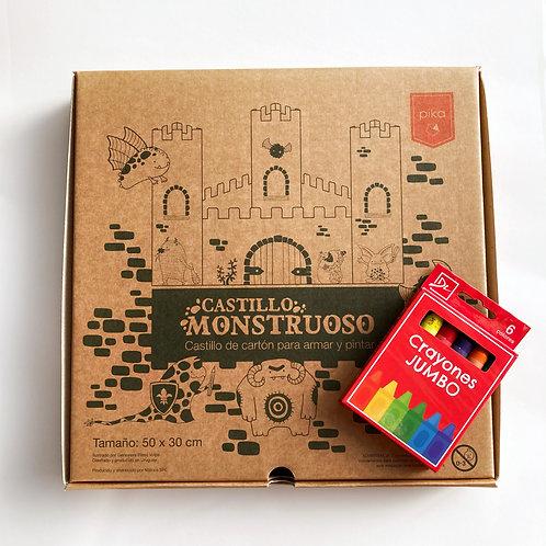 Castillo monstruoso (incluye crayolas!!)