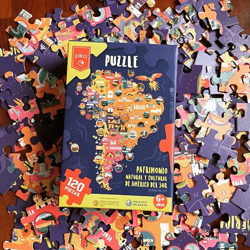América del Sur (120 piezas)