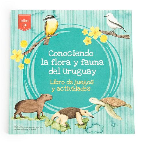 Libro Conociendo la flora y fauna del Uruguay