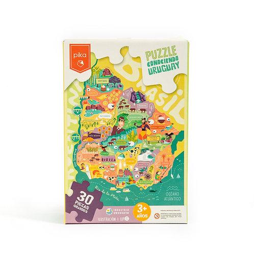 Conociendo Uruguay (30 piezas)