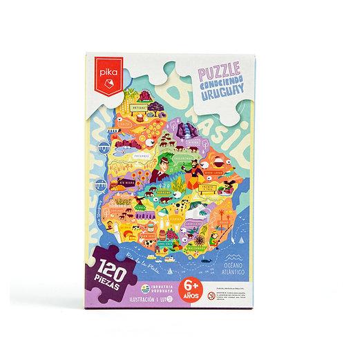 Conociendo Uruguay (120 piezas)