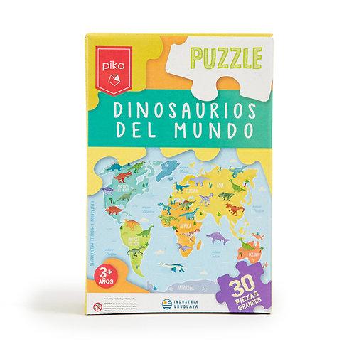 Dinosaurios del Mundo (30 piezas)