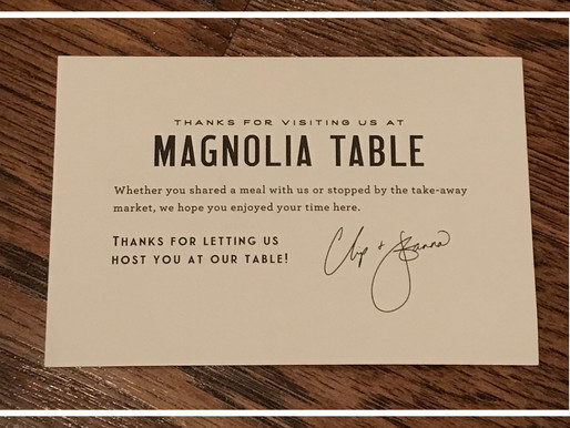 Magnolia Magic: 3 Things Your Money Can't Buy