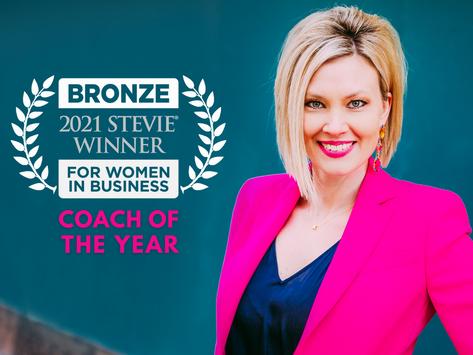 Kelli Thompson Wins Bronze Stevie Award  For Women In Business
