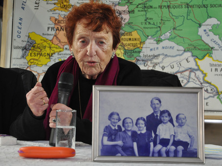 Tsipora Granat, enfant cachée pendant la guerre témoigne