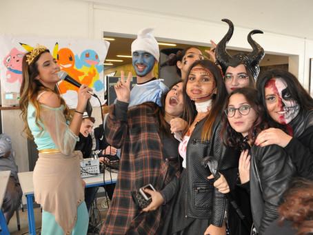 Grande fête de Pourim au lycée