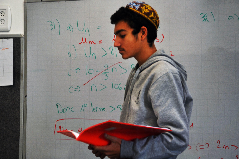 classe TS maths Salomon