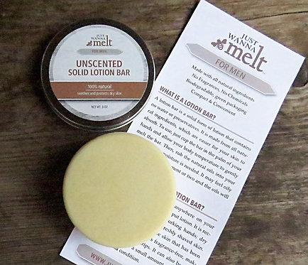 Lotion Bar for Men