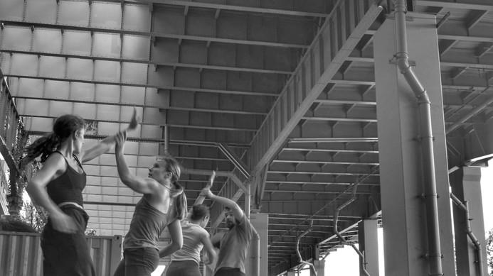 "LaneCoArts  ""One Up"" | Dance Film   Dancers: Annie White, Dominique Dobransky, Nina Chong-Jimenez, Caleb Patterson"