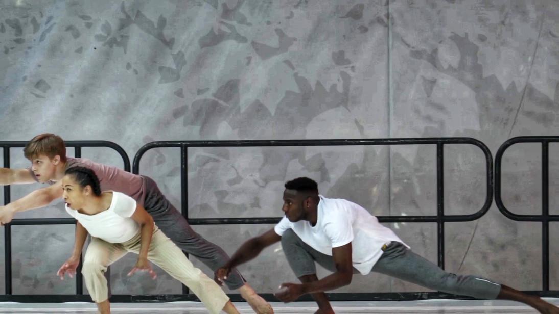 "LaneCoArts Dancers: Gabriel Berger, Nina Chong-Jimenez, Fabricio Seraphin Performance: ""Swerve"" at Bryant Park"