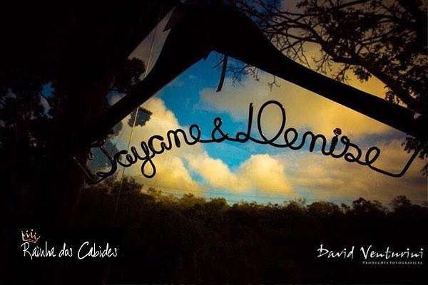 Tayane e Denise