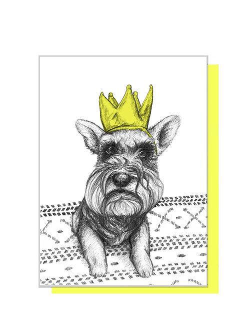 Queen Lottie Card