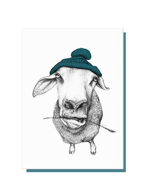 Woolly Hat Card