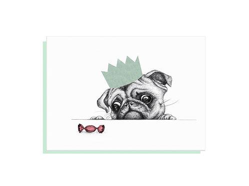 Sweet Pug Card