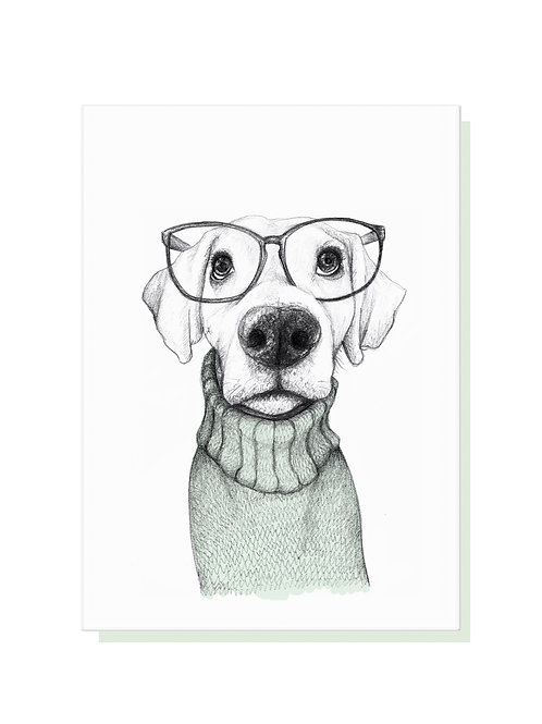 Clever Dog Card