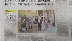 """L'articolo sulle gite scolastiche su """"La Stampa"""""""