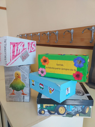 Arte in scatola!
