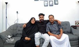 Sani yas's parents