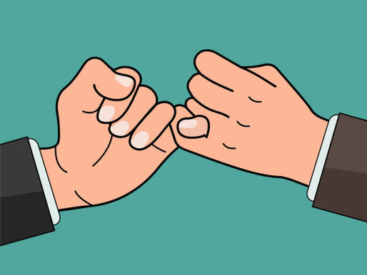 Pinky promise your way to results