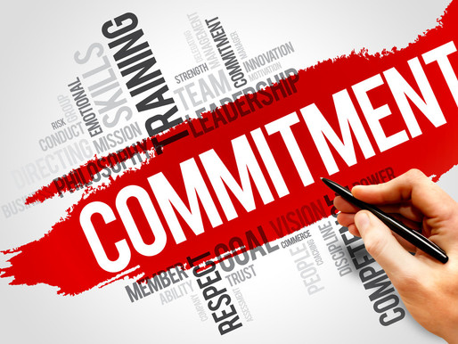 How committed are you to your commitments?