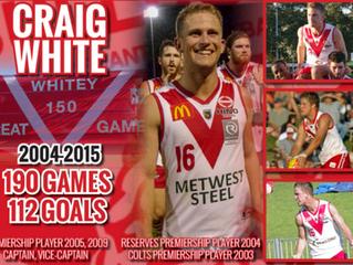 Craig White Announced as Coach!