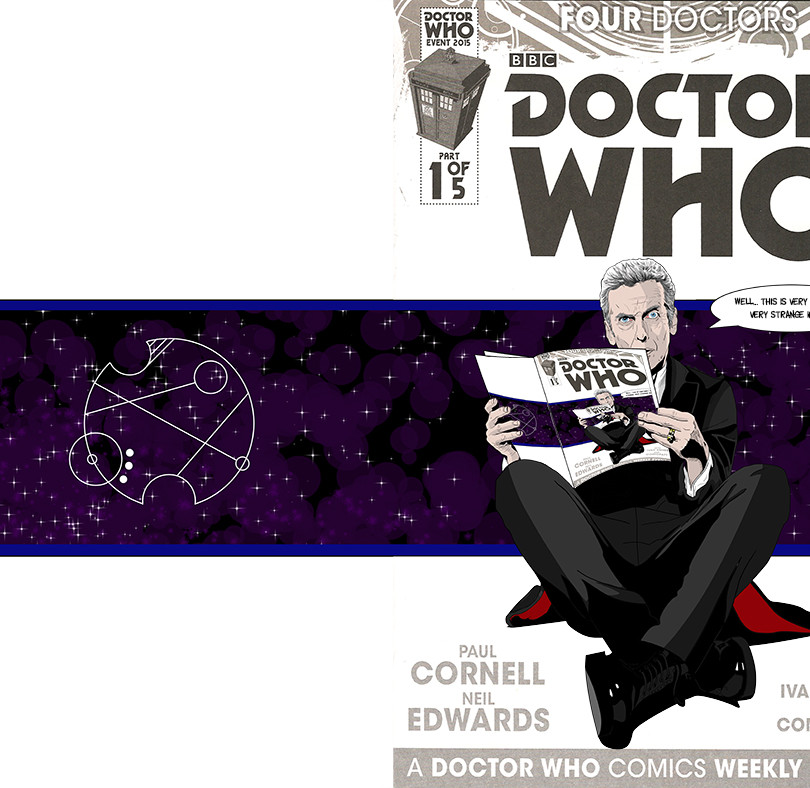 Doctor Who Custom Cover
