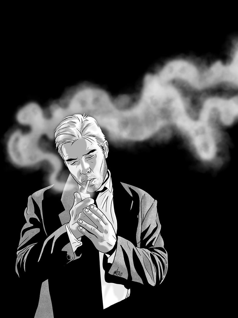 Inktober - John Constantine