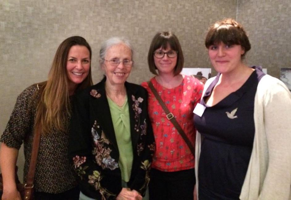 Meeting Ina May - an inspiration