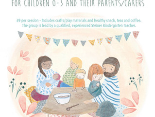 New baby and toddler groups